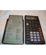 Calculator Advanced Business Texas Inst BAii  - $29.99