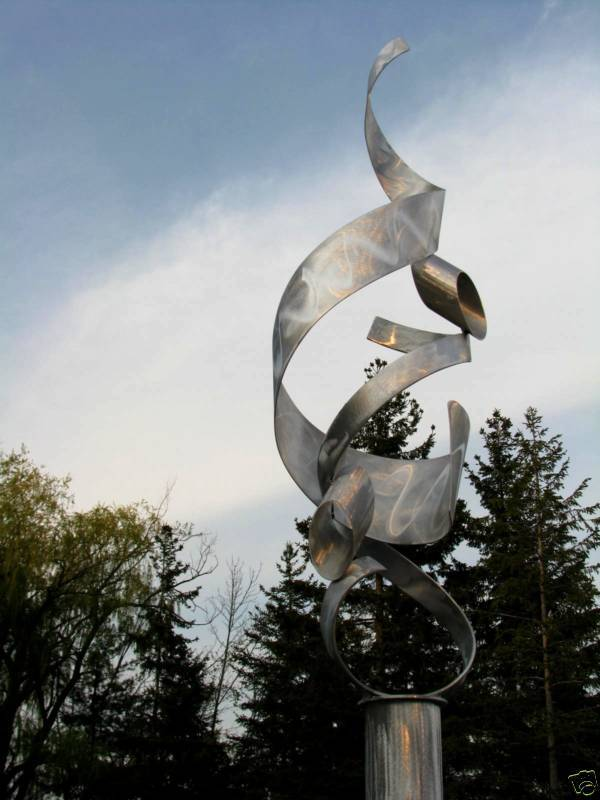 OUTDOOR METAL SCULPTURE, FINE ART, BY ALEX KOVACS #23