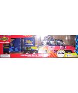 NASCAR SUNOCO RACING BIKE & TRANSPORTER - $25.00