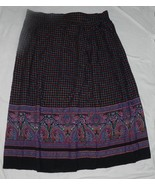 SK & COMPANY size 16 Midcalf Length Rayon Skirt - $9.99