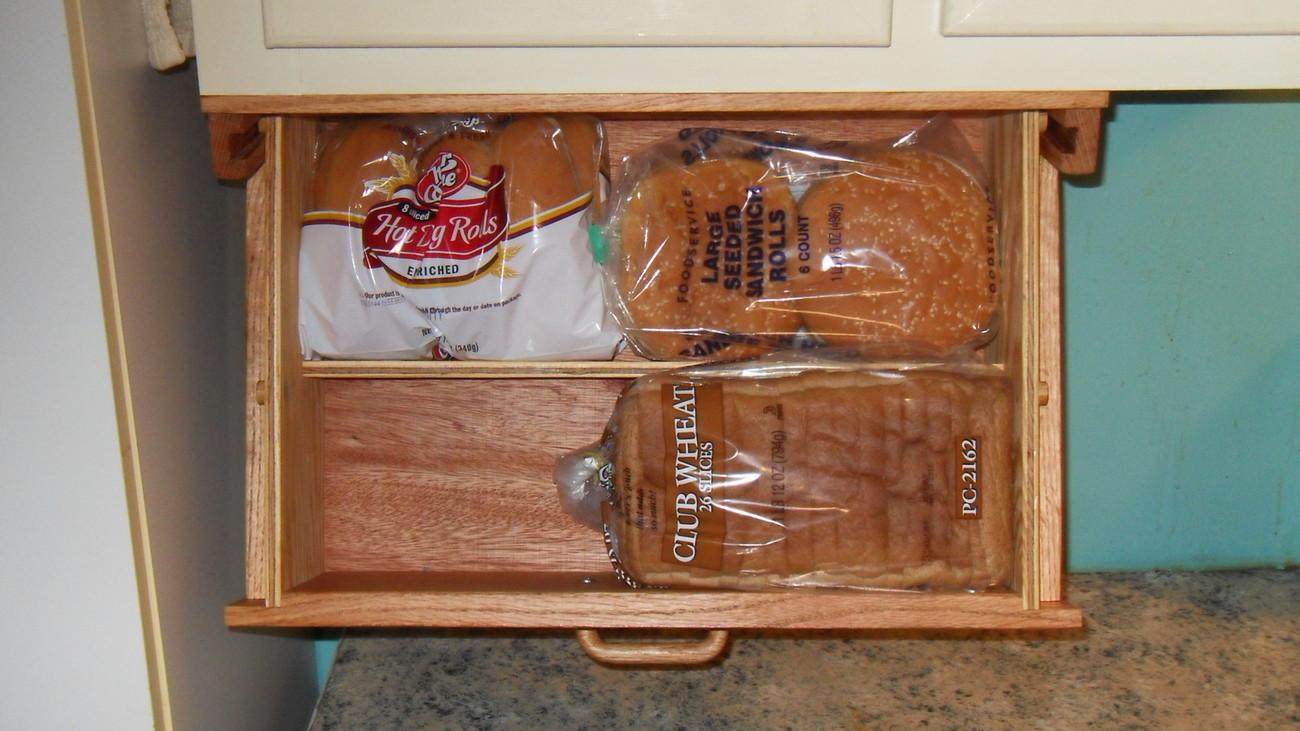 Mount under cabinet bread box – Refrigeration repair