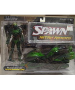 Green Vapor Nitro Riders  Action Figure - $13.00