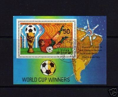 KOREA - 1978- SOCCER - WORLD CUP - ARGENTINA - S/SHEET!