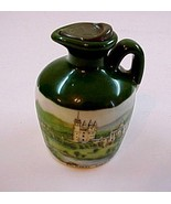 Mini Glen Fiona Empty Jug w/Balmoral Castle Scene-Scotland