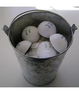 Magnets, Bucket of 19 Golf Balls with Golf Sayi... - $45.00