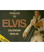 ELVIS PRESLEY CALENDER 1978-79--13 DIFFERENT PH... - $9.00