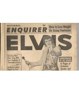 EVIS PRESLEY NATIONAL ENQUIRER 1st ANNIVERSARY ... - $9.00