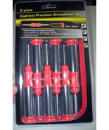 GREAT STAR RED & BLACK DUAL-END PRECISION 6 PIE... - $12.99