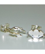 10x5 Marquise SnapTite Sterling Silver Earring ... - $2.99