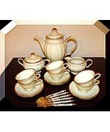 Mocha Set vintage Hutschenreuther Porcelain Ger... - $175.13