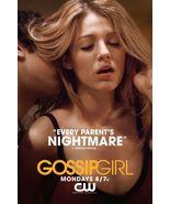 Ziegesar's GOSSIP GIRL Poster SERENA 2' x 3' Ra... - $36.00