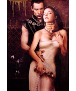 THE TUDORS Poster  JONATHAN RHYS MEYERS & NATAL... - $50.00