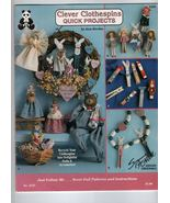 Clothespin Dolls Quick Project Booklet 2223 - $3.50