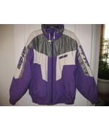Ski doo Bombardier purple and white Snowmobile ... - $60.00