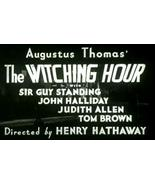 The Witching Hour 1934 DVD Guy Standing Very Rare  - $8.00