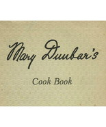 Mary Dunbar's Cookbook 1927 Jewel Tea Vintage C... - $11.99
