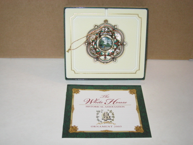 The White House 2005 Historical Association Ornament