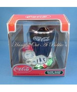 Coca Cola Blown Glass Christmas Ornament Drink ... - $12.99
