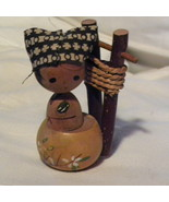 Kokeshi Doll Japanese Wood Hand Painted Willow ... - $10.00