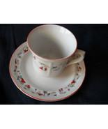 Katherine Babonovsky White Christmas cups and s... - $14.99