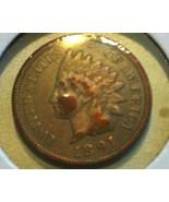 1891 INDIAN Head CENT - BRONZE - BTR DATE - NIC... - $9.50