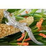 Vintage Sterling Silver Lizard Gecko Brooch Pin... - $37.95