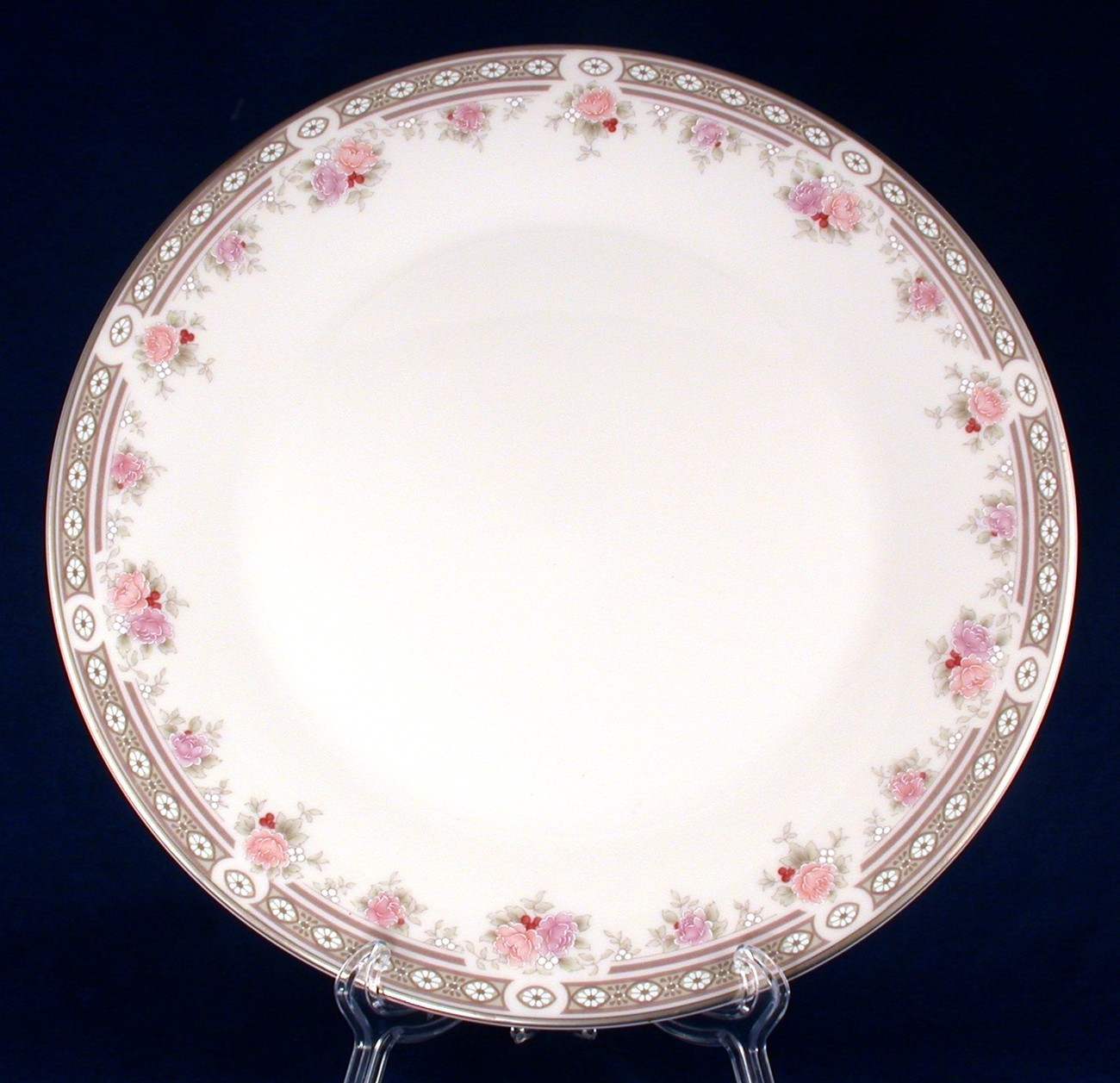 Royal Doulton Elegance Dinner Plate TC1158 Vogue Collection New China Royal