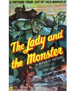 The Lady And The Monster 1944 DVD Richard Arlen  - $8.00