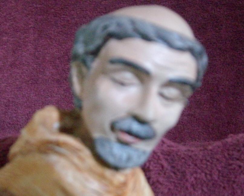 Image 1 of St. Francis Bird Feeder Statue