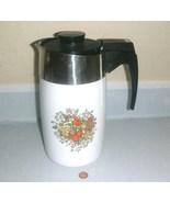 Vintage Corning Coffee 10 Cup Electric Percolator E-1210-8  - $19.91