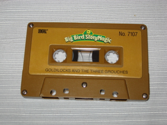 Ideal 1986 Talking Big Bird Story Magic Cassette Tape #7107