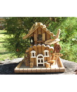 Bird Feeder Log Cabin Country Lodge - $16.00