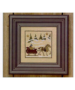 Sleigh Ride Winter Snapperland Bent Creek cross stitch chart - $2.25