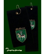 Irish Coat of Arms Personalised Embroidered Gol... - $35.00