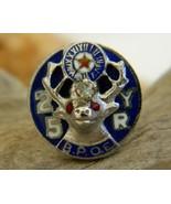 Vintage Elk BPOE 25 Yr Enamel Lapel Pin Members... - $14.95