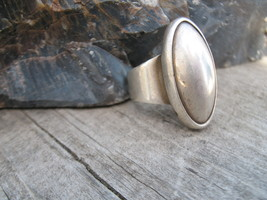 Mexico Sterling silver bullet ring Vintage 8 - $39.00