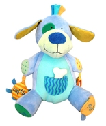 Manhattan Toy Peek Squeak Plush Activity Puppy ... - $11.90