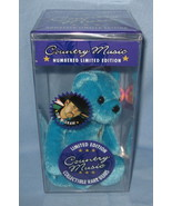 Tim McGraw 1999 blue Teddy Bear doll collector ... - $77.77