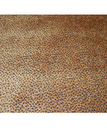 Brown Animal Skin Print Chenille Upholstery Fab... - $39.95