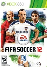 FIFA Soccer 12, xbox 360 game (US)