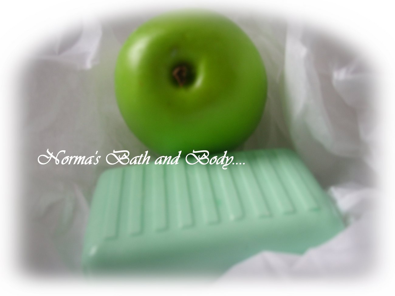 Apple shea butter glycerin soap