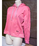 Under Armour Full Zip Hoodie Womens XS Light  Peach Coral Pink  Exc Warm - $25.00