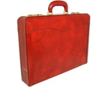 Buy Briefcases - Pratesi Federico Italian Leather Attache Briefcase New