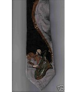 Mark Alexander Neck Tie Jazz Saxophone Player m... - $29.77
