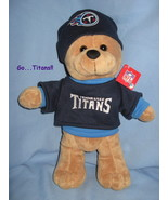 Tennessee Titans football logo Brown plush boy ... - $21.77