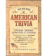 Big Book of American Trivia - $4.00
