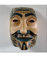 FAKE KWAKIUTL Indian MASK/NW Coast American/Tribal/Native - $39.99