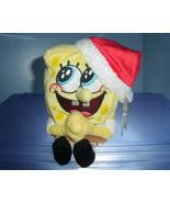 Spongebob Jolly Elf TY Beanie Baby MWMT 2004 - $3.99