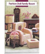 Family Room Plastic Canvas Patterns~Fit Barbie ... - £19.08 GBP