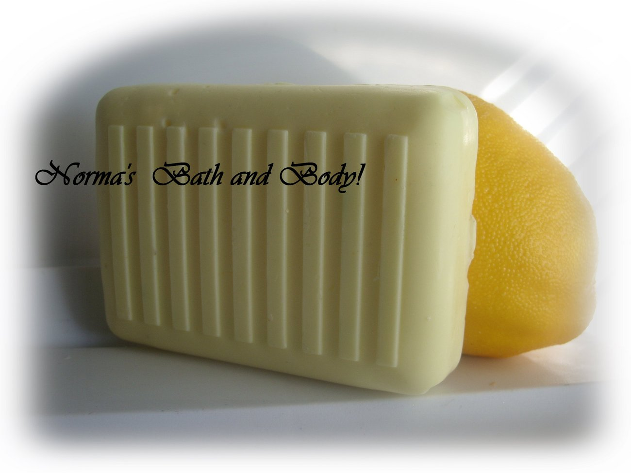 lemon shea butter soap
